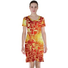 Board Conductors Circuit Short Sleeve Nightdress