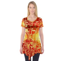 Board Conductors Circuit Short Sleeve Tunic