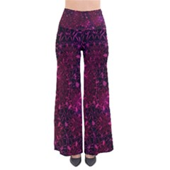 Retro Flower Pattern Design Batik Pants