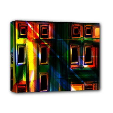 Architecture City Homes Window Deluxe Canvas 14  X 11