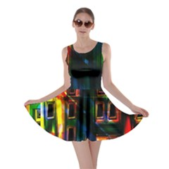 Architecture City Homes Window Skater Dress