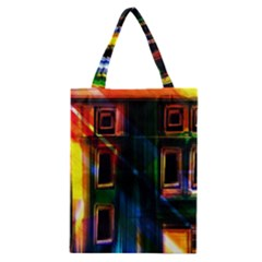 Architecture City Homes Window Classic Tote Bag