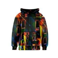 Architecture City Homes Window Kids  Pullover Hoodie