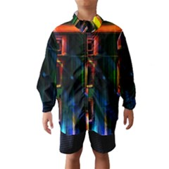 Architecture City Homes Window Wind Breaker (Kids)