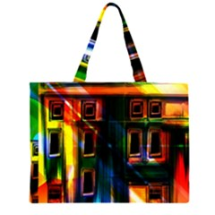 Architecture City Homes Window Large Tote Bag