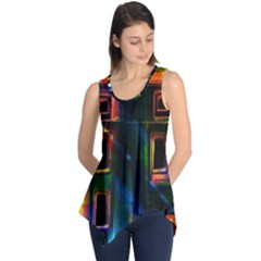 Architecture City Homes Window Sleeveless Tunic