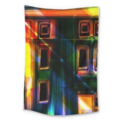Architecture City Homes Window Large Tapestry
