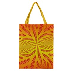 Background Brush Particles Wave Classic Tote Bag