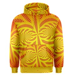 Background Brush Particles Wave Men s Pullover Hoodie