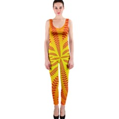 Background Brush Particles Wave Onepiece Catsuit