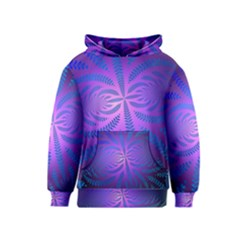 Background Brush Particles Wave Kids  Pullover Hoodie