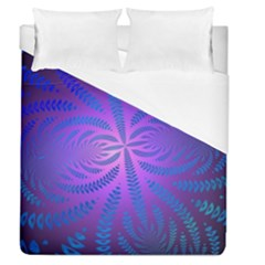 Background Brush Particles Wave Duvet Cover (queen Size)