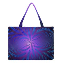 Background Brush Particles Wave Medium Tote Bag