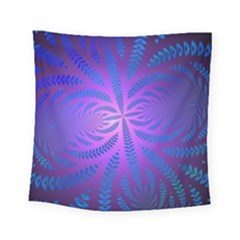 Background Brush Particles Wave Square Tapestry (small)