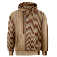 Wood Grain Texture Brown Men s Pullover Hoodie