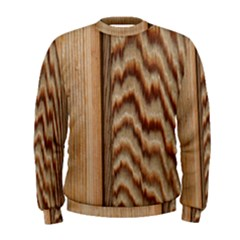 Wood Grain Texture Brown Men s Sweatshirt