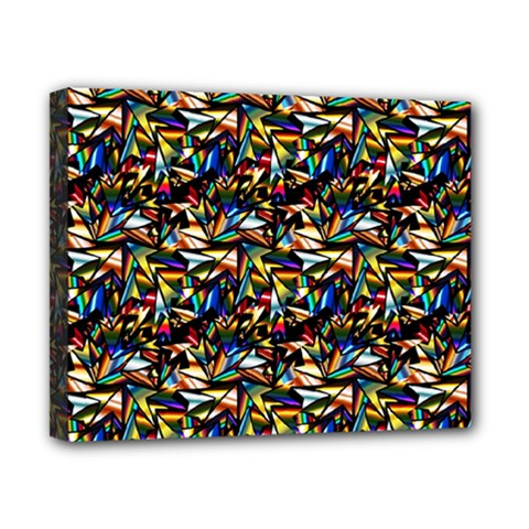 Abstract Pattern Design Artwork Canvas 10  X 8