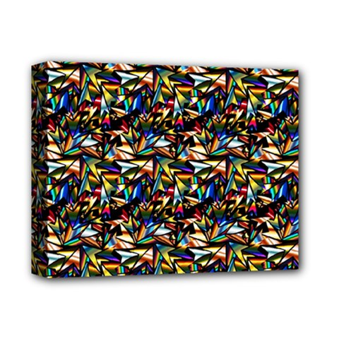Abstract Pattern Design Artwork Deluxe Canvas 14  X 11