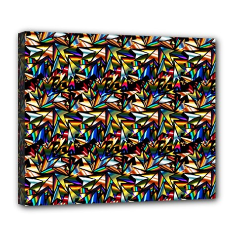 Abstract Pattern Design Artwork Deluxe Canvas 24  X 20