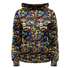 Abstract Pattern Design Artwork Women s Pullover Hoodie