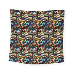 Abstract Pattern Design Artwork Square Tapestry (small)