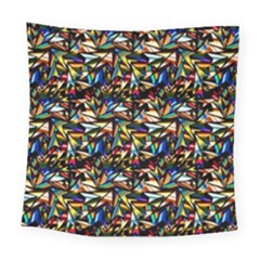 Abstract Pattern Design Artwork Square Tapestry (large)