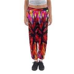 Color Batik Explosion Colorful Women s Jogger Sweatpants