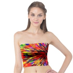 Color Batik Explosion Colorful Tube Top