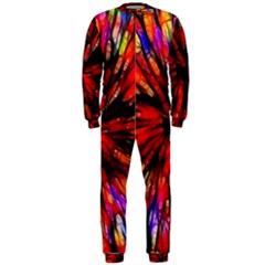 Color Batik Explosion Colorful OnePiece Jumpsuit (Men)