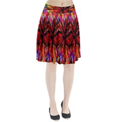 Color Batik Explosion Colorful Pleated Skirt
