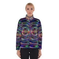 Wave Line Colorful Brush Particles Winterwear