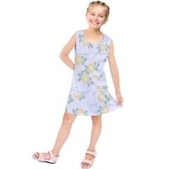 Flower Arrangements Season Sunflower Kids  Tunic Dress