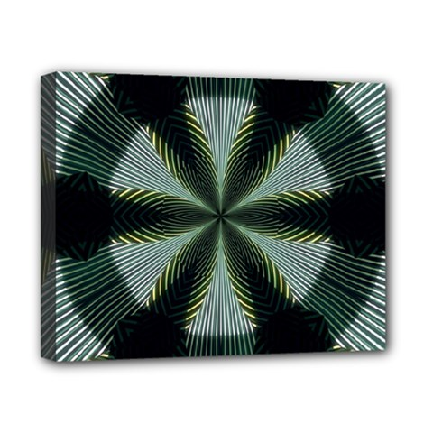 Lines Abstract Background Canvas 10  X 8