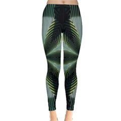 Lines Abstract Background Leggings