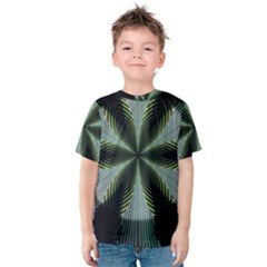 Lines Abstract Background Kids  Cotton Tee