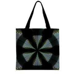 Lines Abstract Background Grocery Tote Bag