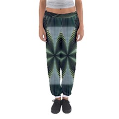 Lines Abstract Background Women s Jogger Sweatpants