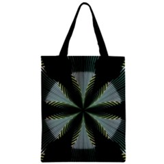 Lines Abstract Background Zipper Classic Tote Bag
