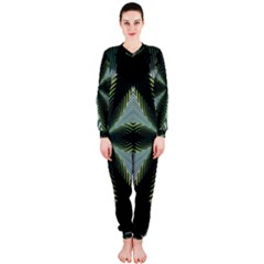 Lines Abstract Background OnePiece Jumpsuit (Ladies)