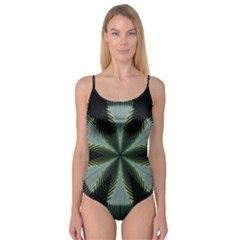 Lines Abstract Background Camisole Leotard