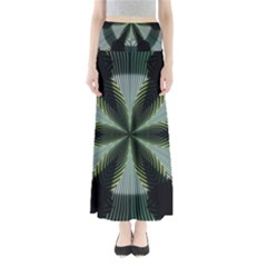Lines Abstract Background Maxi Skirts