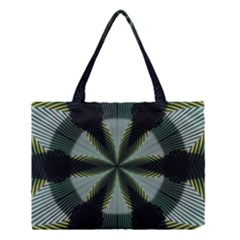 Lines Abstract Background Medium Tote Bag