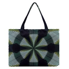 Lines Abstract Background Medium Zipper Tote Bag