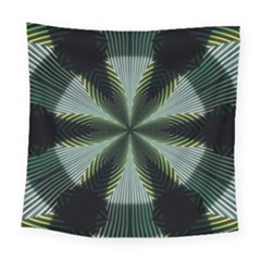 Lines Abstract Background Square Tapestry (large)