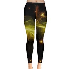 Particles Vibration Line Wave Leggings
