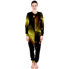 Particles Vibration Line Wave Onepiece Jumpsuit (ladies)