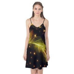 Particles Vibration Line Wave Camis Nightgown