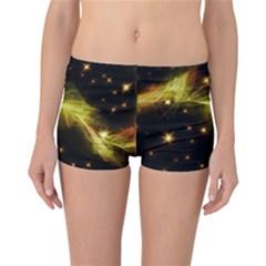 Particles Vibration Line Wave Reversible Bikini Bottoms