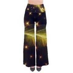 Particles Vibration Line Wave Pants