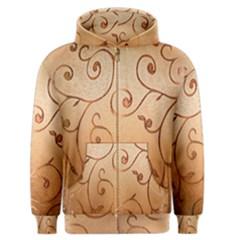 Texture Material Textile Gold Men s Zipper Hoodie